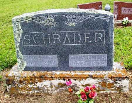 SCHRADER, CHARLES - Benton County, Arkansas | CHARLES SCHRADER - Arkansas Gravestone Photos