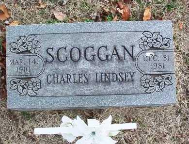 SCOGGAN, CHARLES LINDSEY - Benton County, Arkansas | CHARLES LINDSEY SCOGGAN - Arkansas Gravestone Photos