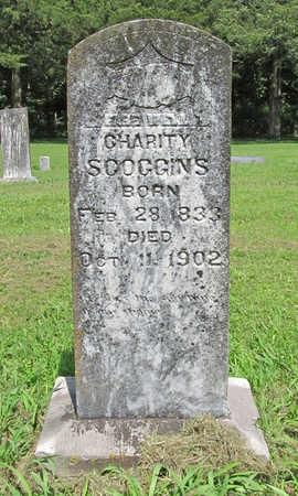 SCOGGINS, CHARITY - Benton County, Arkansas | CHARITY SCOGGINS - Arkansas Gravestone Photos