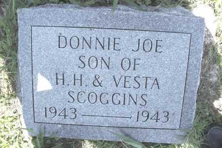 SCOGGINS, DONNIE JOE - Benton County, Arkansas | DONNIE JOE SCOGGINS - Arkansas Gravestone Photos