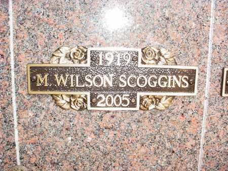 SCOGGINS, M. WILSON - Benton County, Arkansas | M. WILSON SCOGGINS - Arkansas Gravestone Photos