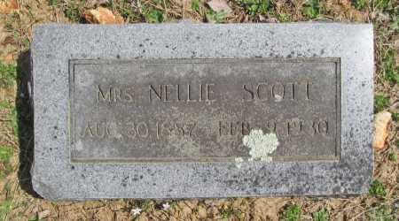 SCOTT, MRS. NELLIE - Benton County, Arkansas   MRS. NELLIE SCOTT - Arkansas Gravestone Photos