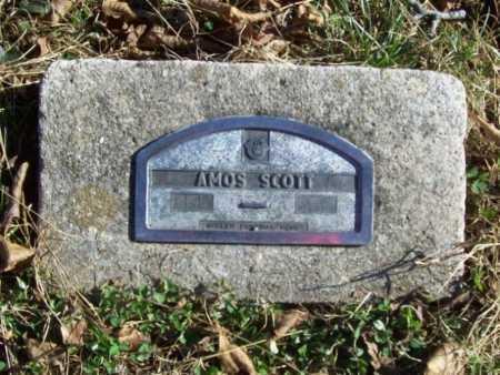 SCOTT, AMOS - Benton County, Arkansas | AMOS SCOTT - Arkansas Gravestone Photos