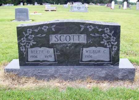 SCOTT, BERTIE O. - Benton County, Arkansas | BERTIE O. SCOTT - Arkansas Gravestone Photos