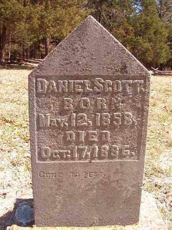 SCOTT, DANIEL - Benton County, Arkansas   DANIEL SCOTT - Arkansas Gravestone Photos