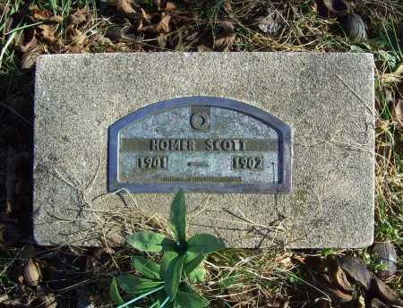 SCOTT, HOMER - Benton County, Arkansas   HOMER SCOTT - Arkansas Gravestone Photos