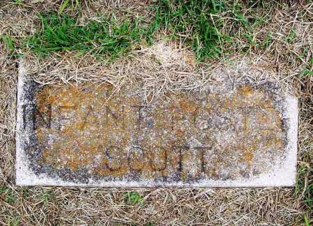 SCOTT, INFANT FOSTER - Benton County, Arkansas | INFANT FOSTER SCOTT - Arkansas Gravestone Photos