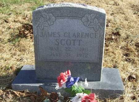 SCOTT, JAMES CLARENCE - Benton County, Arkansas | JAMES CLARENCE SCOTT - Arkansas Gravestone Photos