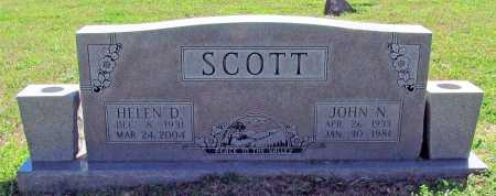 SCOTT, HELEN D. - Benton County, Arkansas | HELEN D. SCOTT - Arkansas Gravestone Photos