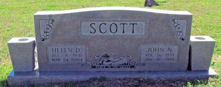 SCOTT, HELEN D. - Benton County, Arkansas | HELEN D. SCOTT - Arkansas Gravestone Photos