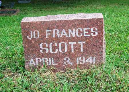 SCOTT, JO FRANCES - Benton County, Arkansas | JO FRANCES SCOTT - Arkansas Gravestone Photos