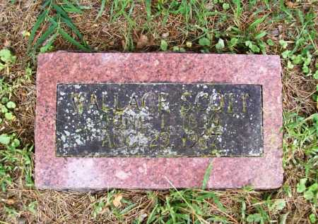 SCOTT, WALLACE - Benton County, Arkansas   WALLACE SCOTT - Arkansas Gravestone Photos