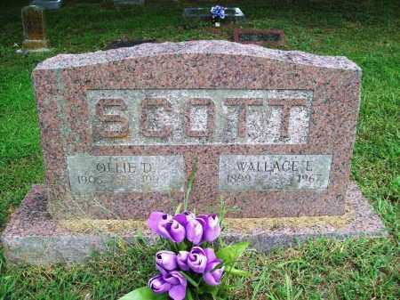 SCOTT, OLLIE D. - Benton County, Arkansas | OLLIE D. SCOTT - Arkansas Gravestone Photos