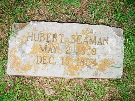 SEAMAN, HUBERT - Benton County, Arkansas   HUBERT SEAMAN - Arkansas Gravestone Photos