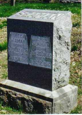 SEAMAN, JOHN MARION - Benton County, Arkansas | JOHN MARION SEAMAN - Arkansas Gravestone Photos