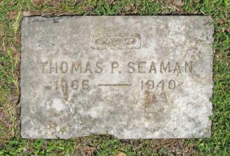 SEAMAN, THOMAS P - Benton County, Arkansas | THOMAS P SEAMAN - Arkansas Gravestone Photos
