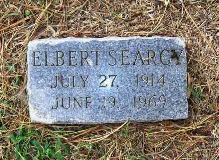SEARCY, ELBERT - Benton County, Arkansas | ELBERT SEARCY - Arkansas Gravestone Photos