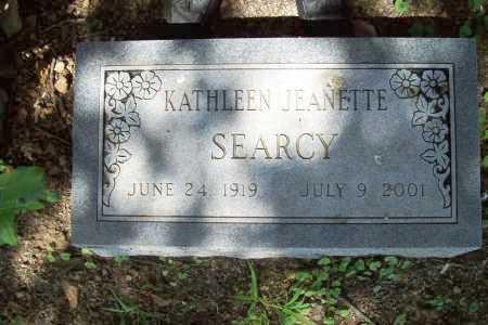 SEARCY, KATHLEEN JEANETTE - Benton County, Arkansas   KATHLEEN JEANETTE SEARCY - Arkansas Gravestone Photos