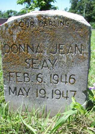 SEAY, DONNA JEAN - Benton County, Arkansas   DONNA JEAN SEAY - Arkansas Gravestone Photos