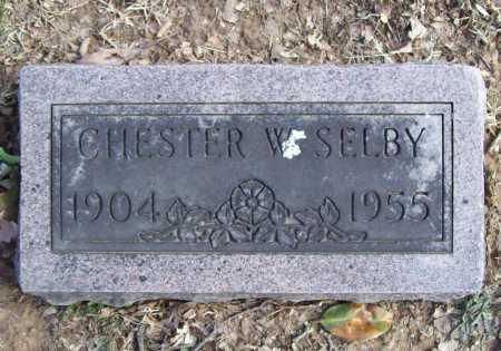 SELBY, CHESTER W. - Benton County, Arkansas   CHESTER W. SELBY - Arkansas Gravestone Photos