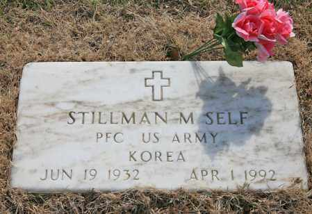 SELF (VETERAN KOR), STILLMAN M - Benton County, Arkansas   STILLMAN M SELF (VETERAN KOR) - Arkansas Gravestone Photos