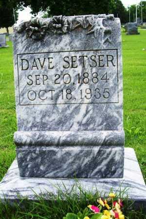 SETSER, DAVE - Benton County, Arkansas | DAVE SETSER - Arkansas Gravestone Photos