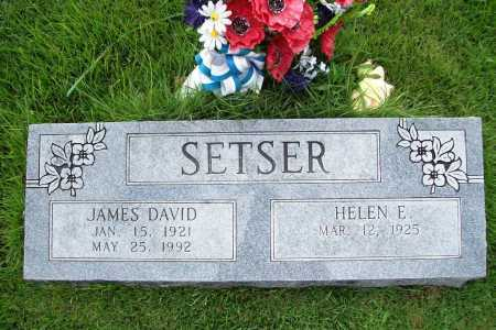 SETSER, JAMES DAVID - Benton County, Arkansas | JAMES DAVID SETSER - Arkansas Gravestone Photos