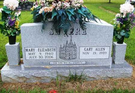 WARD SEVERE, MARY ELIZABETH - Benton County, Arkansas | MARY ELIZABETH WARD SEVERE - Arkansas Gravestone Photos