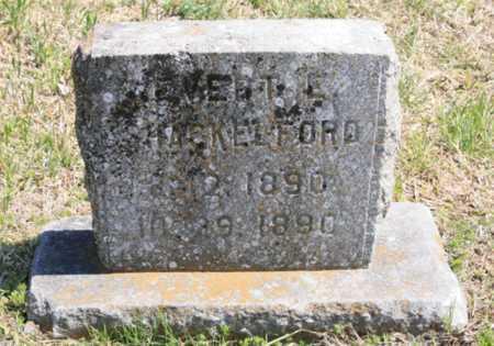 SHACKELFORD, EVERT E. - Benton County, Arkansas | EVERT E. SHACKELFORD - Arkansas Gravestone Photos