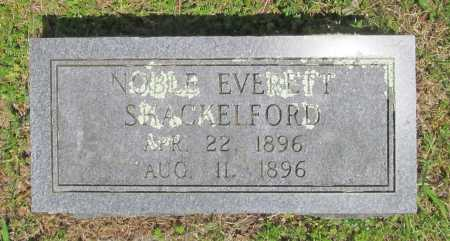 SHACKELFORD, NOBLE EVERETT - Benton County, Arkansas   NOBLE EVERETT SHACKELFORD - Arkansas Gravestone Photos