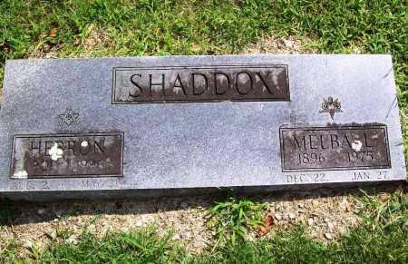 SHADDOX, HEBRON - Benton County, Arkansas | HEBRON SHADDOX - Arkansas Gravestone Photos