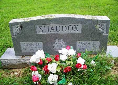 SHADDOX, JOHN M. - Benton County, Arkansas | JOHN M. SHADDOX - Arkansas Gravestone Photos