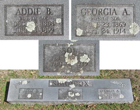 SHADDOX, GEORGIA A - Benton County, Arkansas | GEORGIA A SHADDOX - Arkansas Gravestone Photos