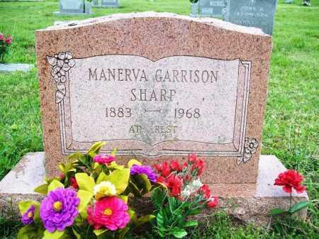 GARRISON SHARP, MANERVA - Benton County, Arkansas | MANERVA GARRISON SHARP - Arkansas Gravestone Photos