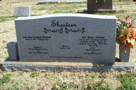 SHASTEEN, DERL WAYNE - Benton County, Arkansas | DERL WAYNE SHASTEEN - Arkansas Gravestone Photos