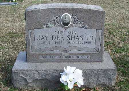 SHASTID, JAY DEE - Benton County, Arkansas | JAY DEE SHASTID - Arkansas Gravestone Photos