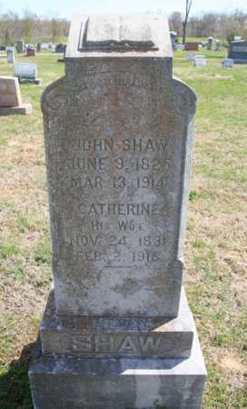 SHAW, JOHN - Benton County, Arkansas | JOHN SHAW - Arkansas Gravestone Photos