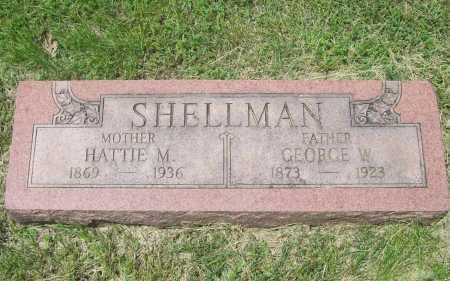 SHELLMAN, HATTIE M. - Benton County, Arkansas | HATTIE M. SHELLMAN - Arkansas Gravestone Photos