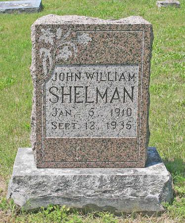 SHELMAN, JOHN WILLIAM - Benton County, Arkansas | JOHN WILLIAM SHELMAN - Arkansas Gravestone Photos
