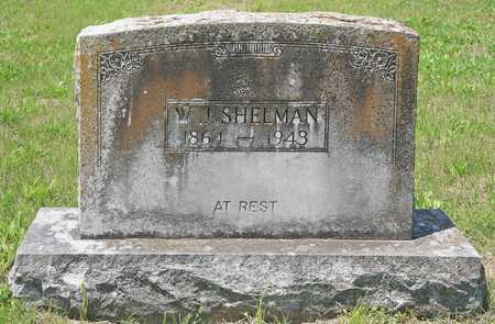 SHELMAN, W J - Benton County, Arkansas   W J SHELMAN - Arkansas Gravestone Photos