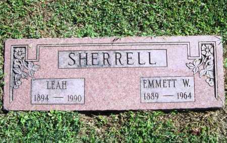SHERRELL, LEAH - Benton County, Arkansas | LEAH SHERRELL - Arkansas Gravestone Photos