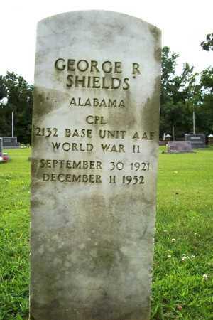 SHIELDS (VETERAN WWII), GEORGE R. - Benton County, Arkansas | GEORGE R. SHIELDS (VETERAN WWII) - Arkansas Gravestone Photos