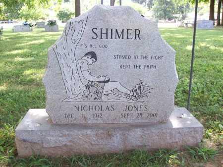 SHIMER, NICHOLAS JONES - Benton County, Arkansas | NICHOLAS JONES SHIMER - Arkansas Gravestone Photos