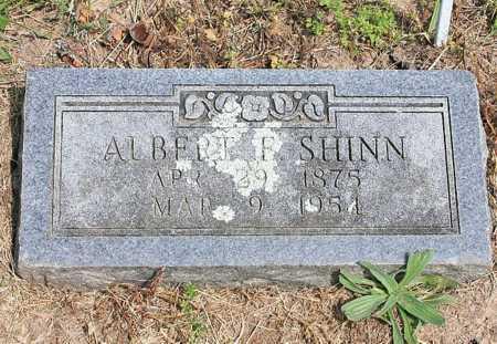 SHINN, ALBERT F. - Benton County, Arkansas   ALBERT F. SHINN - Arkansas Gravestone Photos