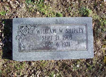 SHIPLEY, WILLIAM W. - Benton County, Arkansas   WILLIAM W. SHIPLEY - Arkansas Gravestone Photos