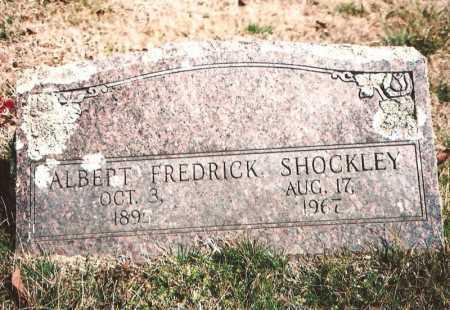 SHOCKLEY, ALBERT FREDRICK - Benton County, Arkansas | ALBERT FREDRICK SHOCKLEY - Arkansas Gravestone Photos