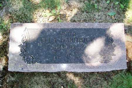 HARDWICK SHOCKLEY, ELLA - Benton County, Arkansas | ELLA HARDWICK SHOCKLEY - Arkansas Gravestone Photos
