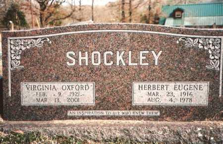 OXFORD SHOCKLEY, VIRGINIA - Benton County, Arkansas | VIRGINIA OXFORD SHOCKLEY - Arkansas Gravestone Photos
