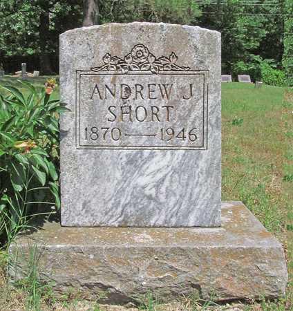 SHORT, ANDREW J - Benton County, Arkansas   ANDREW J SHORT - Arkansas Gravestone Photos