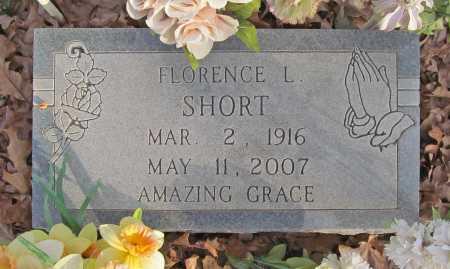 SHORT, FLORENCE L. - Benton County, Arkansas | FLORENCE L. SHORT - Arkansas Gravestone Photos